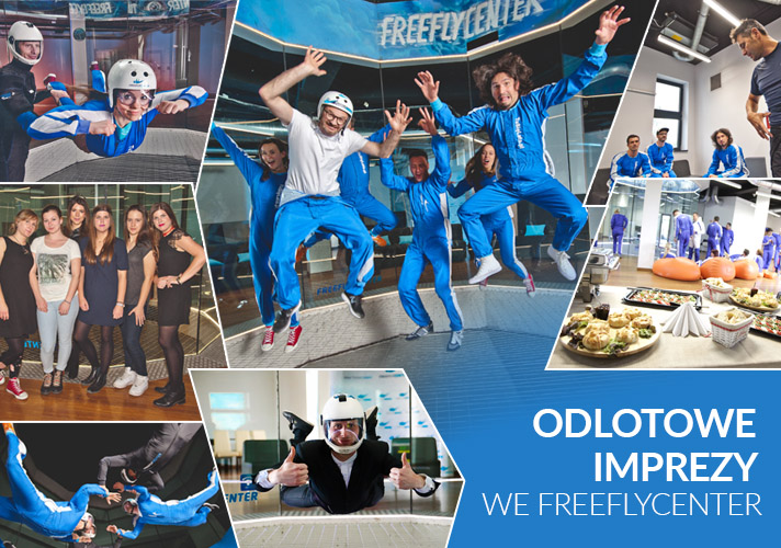 Odlotowe imprezy we FreeFlyCenter
